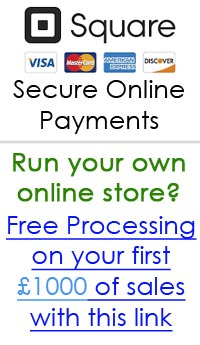 Square Payments - Get free processing fees on your first £1000 of sales with this link