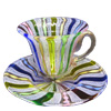 Murano Zanfirico Glass