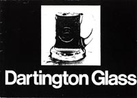Dartington 1967-68 glass catalogue, page 1
