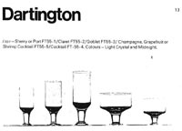 Dartington 1967-68 glass catalogue, page 13