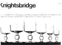 Dartington 1967-68 glass catalogue, page 17