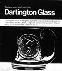 Dartington Glass Catalogue
