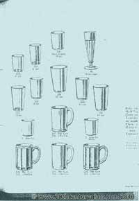 George Davidson 1928 glass catalogue.