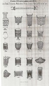 Sowerby 1882 glass catalogue, page 1