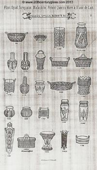 Sowerby 1882 glass catalogue, page 2