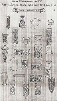 Sowerby 1882 glass catalogue, page 3
