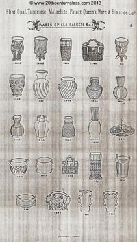 Sowerby 1882 glass catalogue, page 4