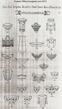 Sowerby 1882 glass catalogue, page 6
