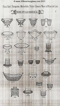 Sowerby 1882 glass catalogue, page 7