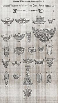 Sowerby 1882 glass catalogue, page 8