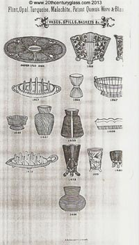 Sowerby 1882 glass catalogue, page 12