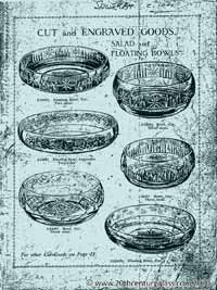 Sowerby 1927 glass catalogue, page 1