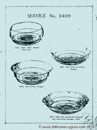 Sowerby 1927 glass catalogue, page 3