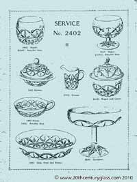 Sowerby 1927 glass catalogue, page 4