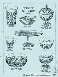 Sowerby 1927 glass catalogue, page 5