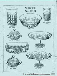 Sowerby 1927 glass catalogue, page 6