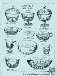 Sowerby 1927 glass catalogue, page 7