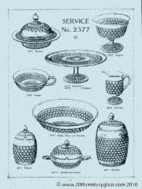 Sowerby 1927 glass catalogue, page 8