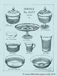 Sowerby 1927 glass catalogue, page 9
