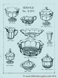 Sowerby 1927 glass catalogue, page 10