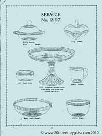 Sowerby 1927 glass catalogue, page 17