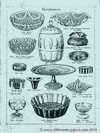Sowerby 1927 glass catalogue, page 22