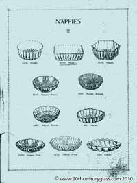 Sowerby 1927 glass catalogue, page 23