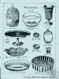 Sowerby 1927 glass catalogue, page 25