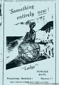 Sowerby 1933 glass catalogue, page 4