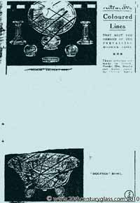 Sowerby 1933 glass catalogue, page 6