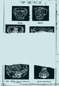 Sowerby 1933 glass catalogue, page 7