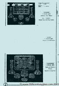 Sowerby 1933 glass catalogue, page 9