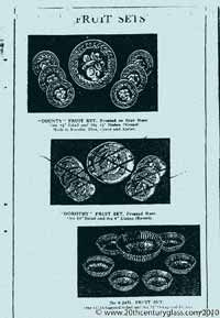 Sowerby 1933 glass catalogue, page 10