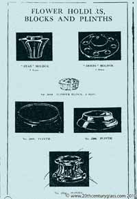 Sowerby 1933 glass catalogue, page 23