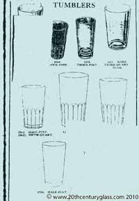 Sowerby 1933 glass catalogue, page 28