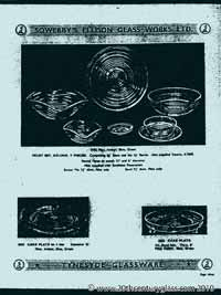 Sowerby 1954 glass catalogue, page 12