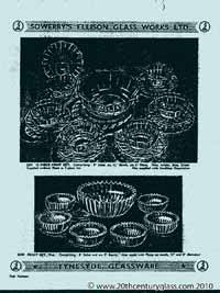 Sowerby 1954 glass catalogue, page 13