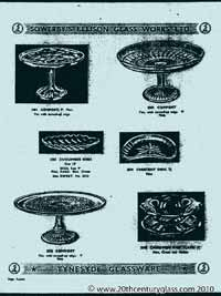 Sowerby 1954 glass catalogue, page 15