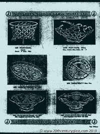 Sowerby 1954 glass catalogue, page 16