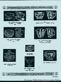 Sowerby 1954 glass catalogue, page 18