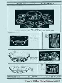 Sowerby glass catalogue - List 35, page 2