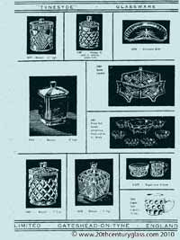 Sowerby glass catalogue - List 35, page 3