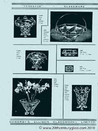 Sowerby glass catalogue - List 35, page 4