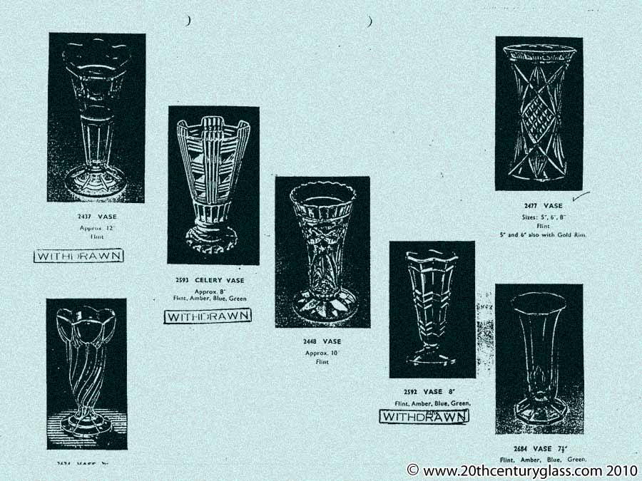 Sowerby catalogue list 39 16 antique collectable glass for Catalogue deco