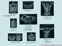 Sowerby glass catalogue - List 39, page 8