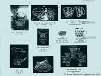 Sowerby glass catalogue - List 39, page 20