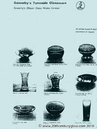 Sowerby glass catalogue - List 41, page 3