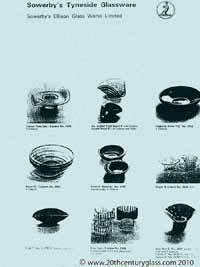 Sowerby glass catalogue - List 41, page 4