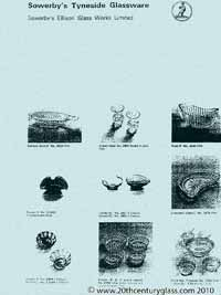 Sowerby glass catalogue - List 41, page 5
