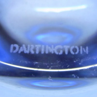 Dartington acid etched marking.